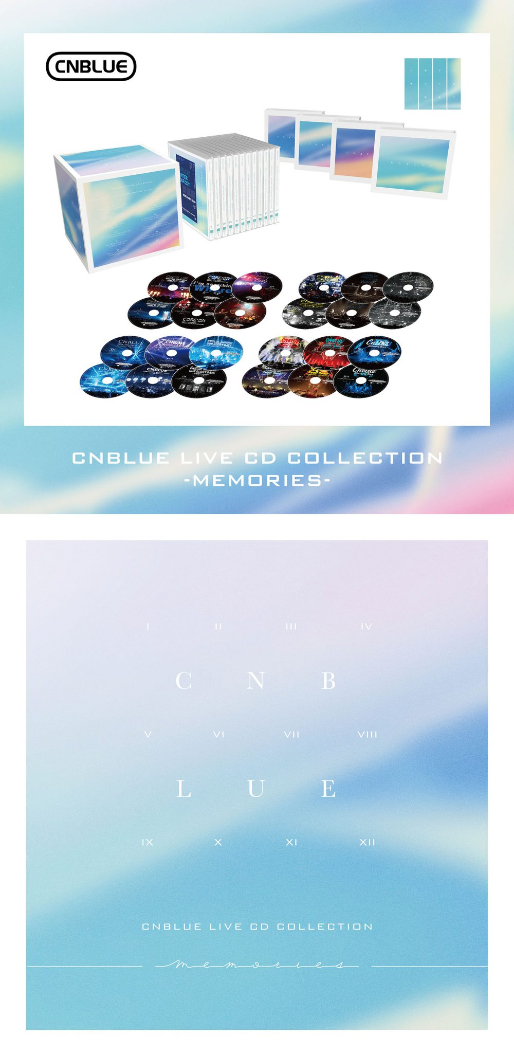 CNBLUE / LIVE CD COLLECTION -MEMORIES-